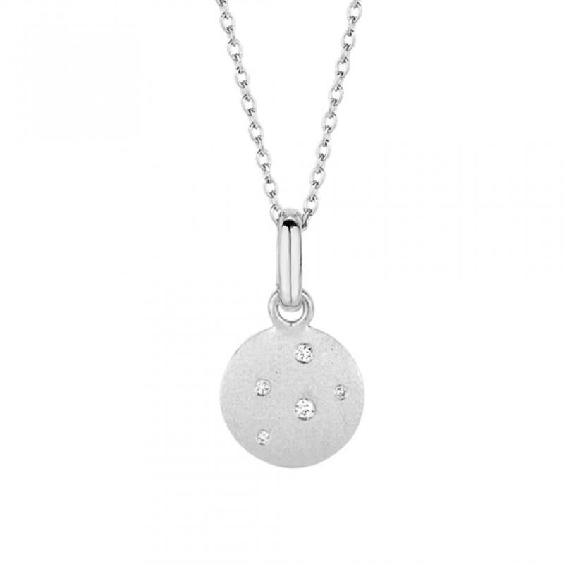 Stardust halskæde, sølv