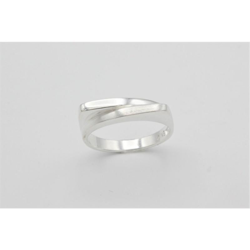 Organic ring, sølv