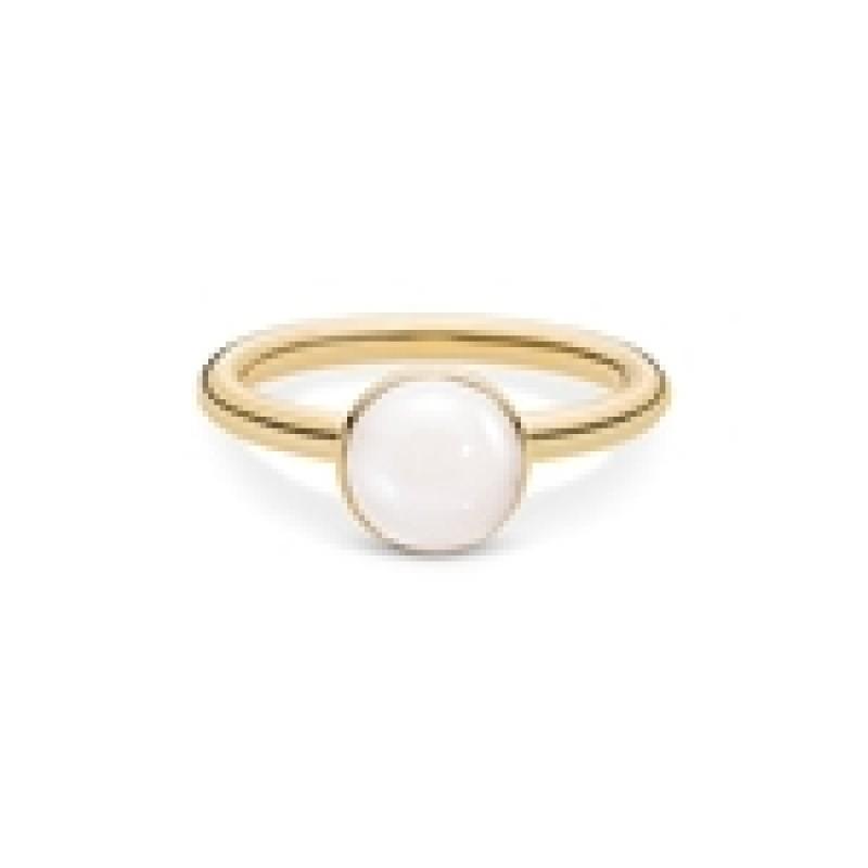 LUMINA ring med hvid månesten