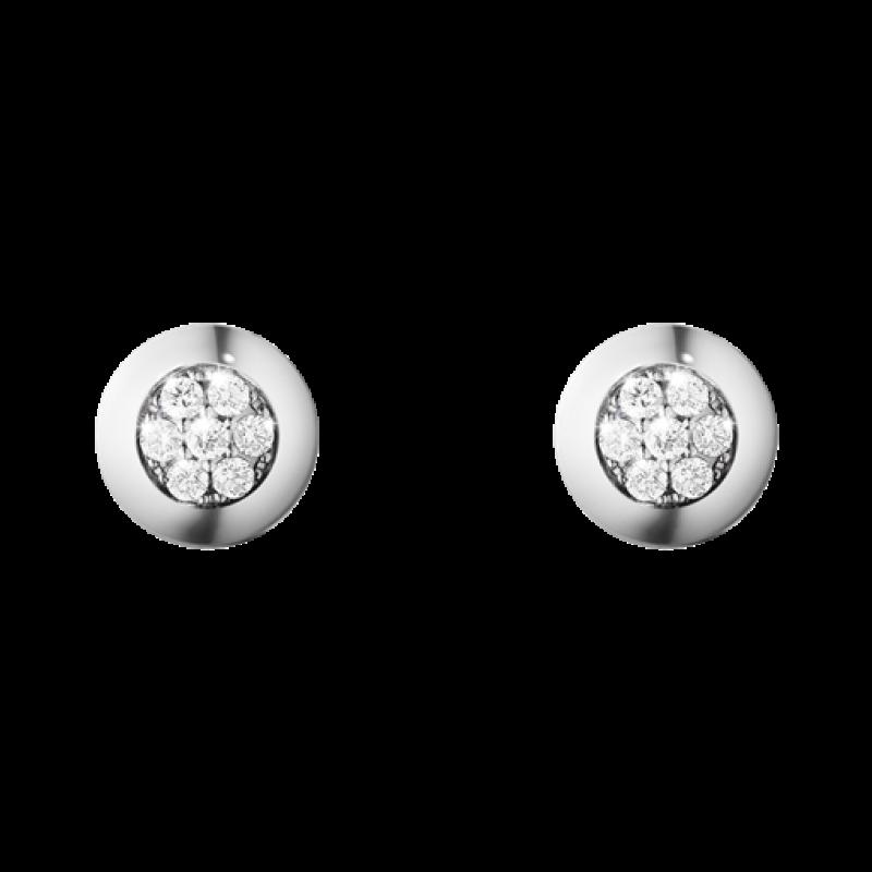 AURORA ørestikker 1552A hvidguld