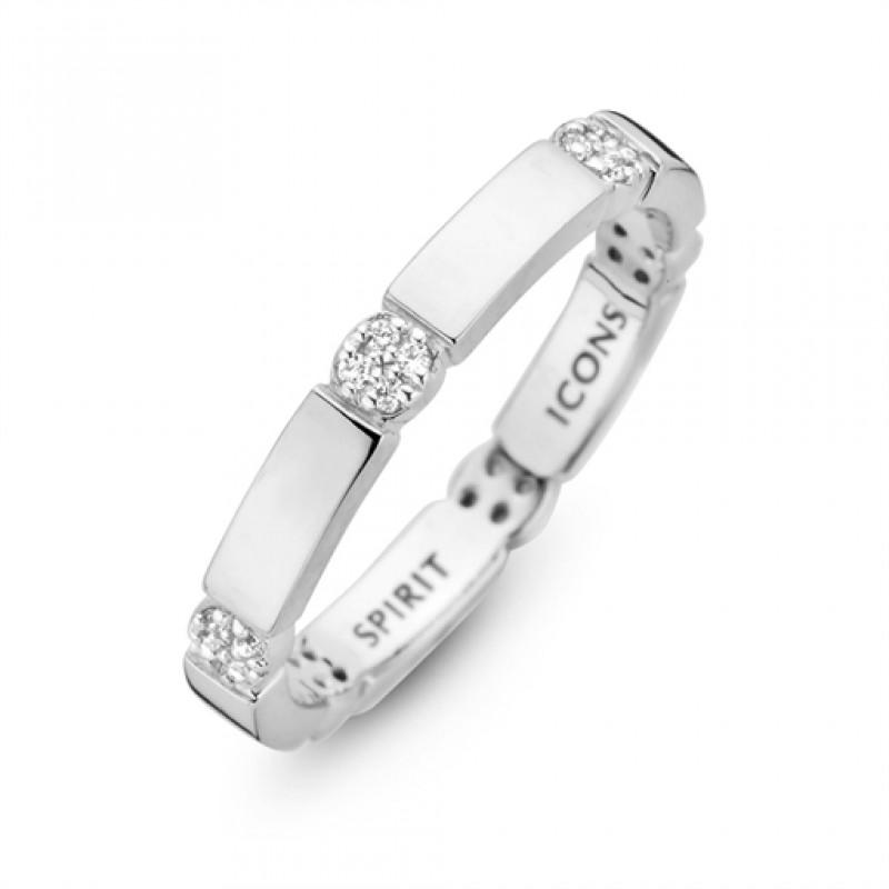Beat ring, sølv