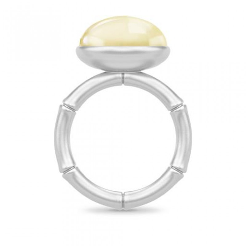 BAMBOO Sølv Wisdom Ring Lemon-01