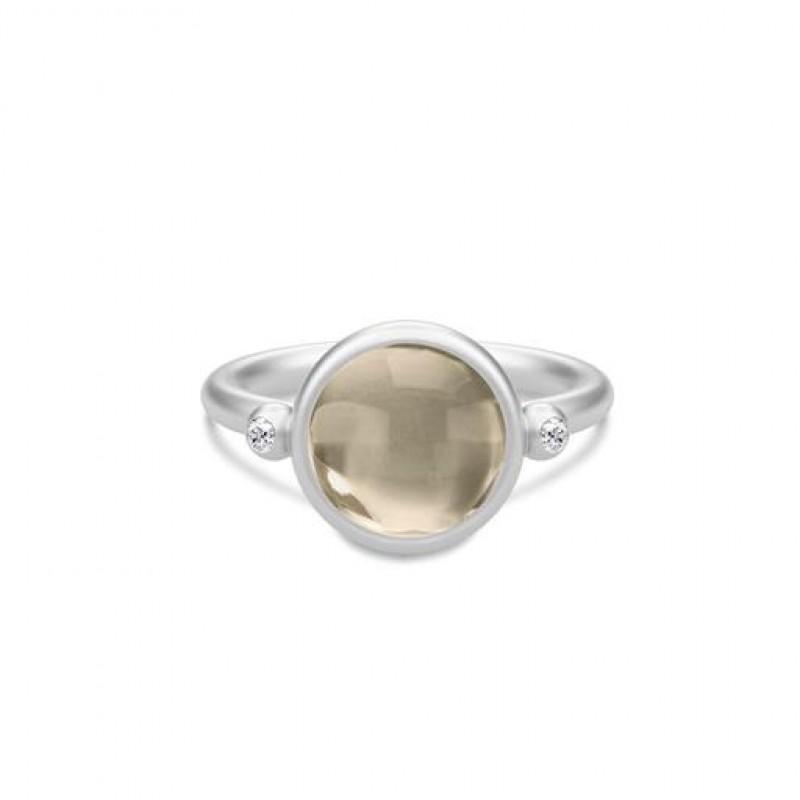 Prime Sølv Ring Smokey