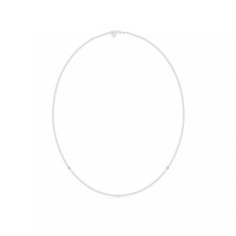 NECKLACE sølv collie 60 cm