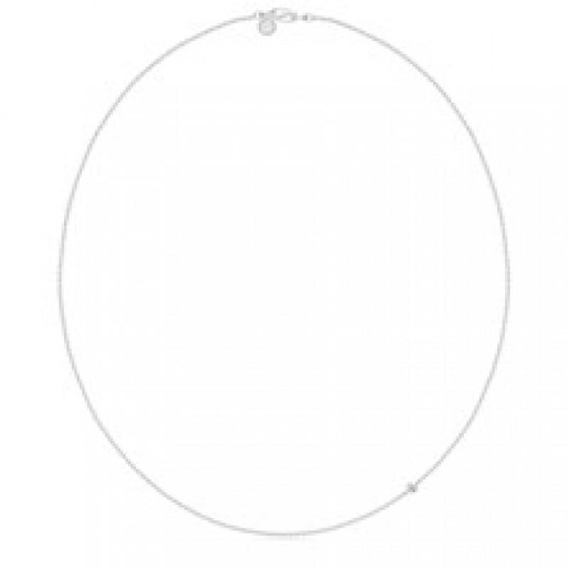 NECKLACE sølv collie 40 cm