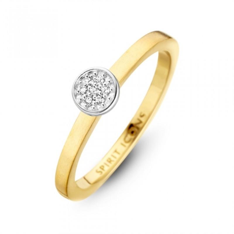 Opus ring, forgyldt