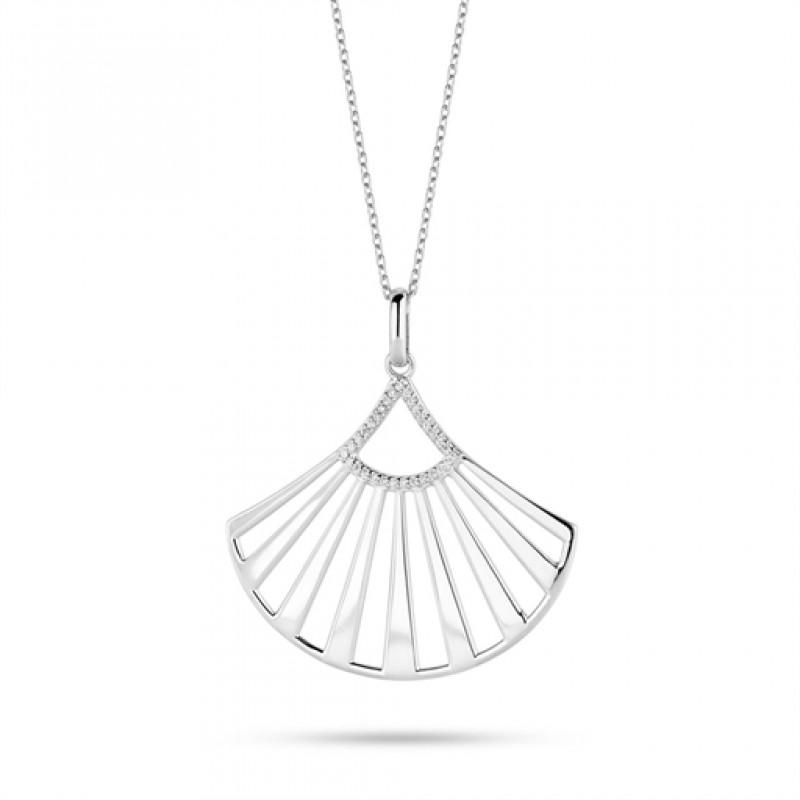 Oriental halskæde, sølv