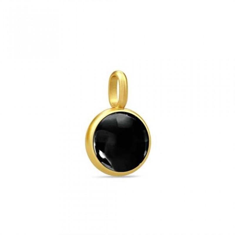 PRIME vedhæng med sort krystal