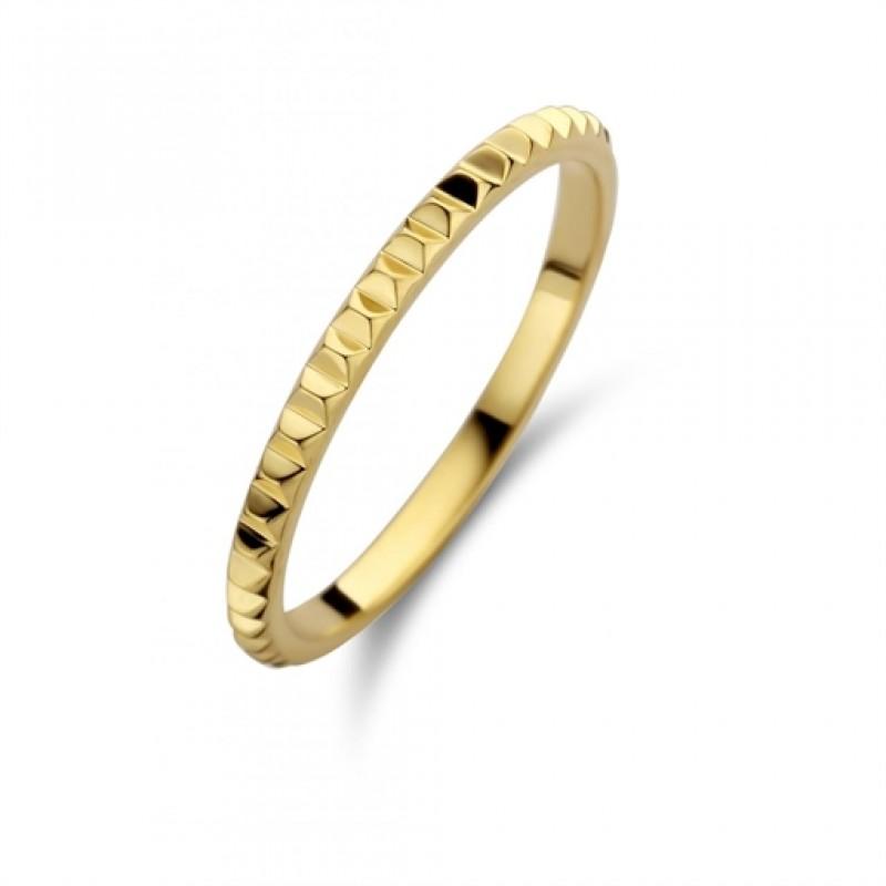 Peak ring, rødguld