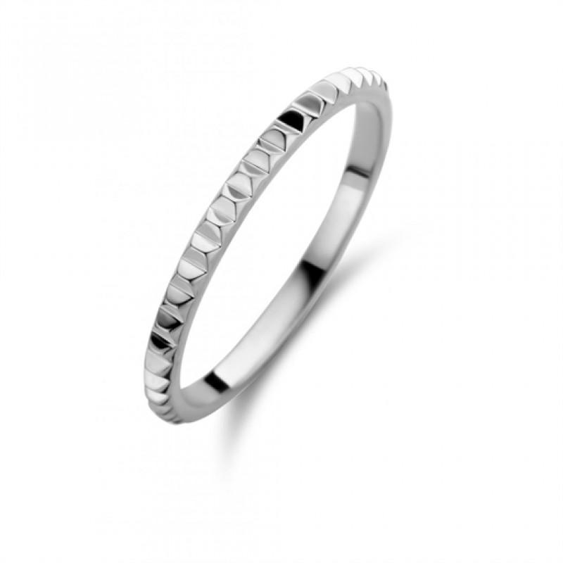Peak ring, hvidguld