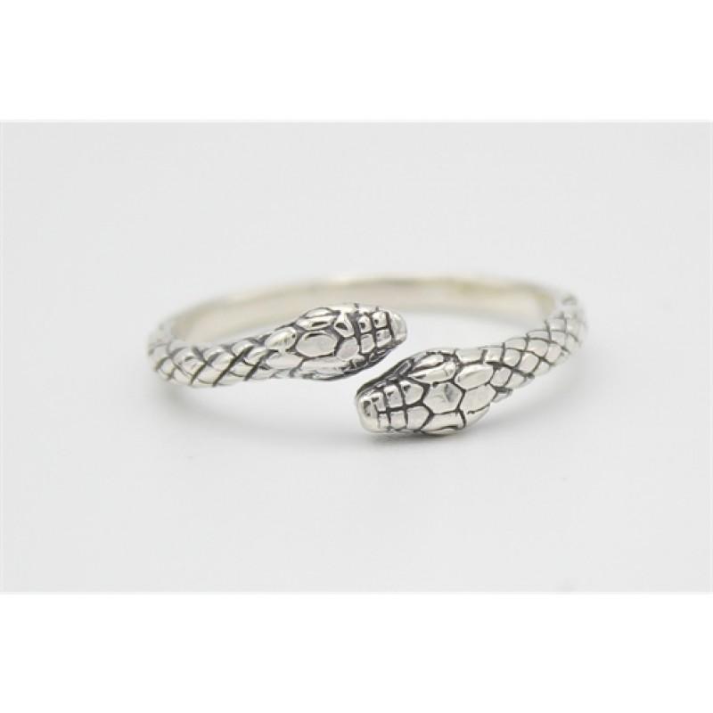 Snake sølv ring