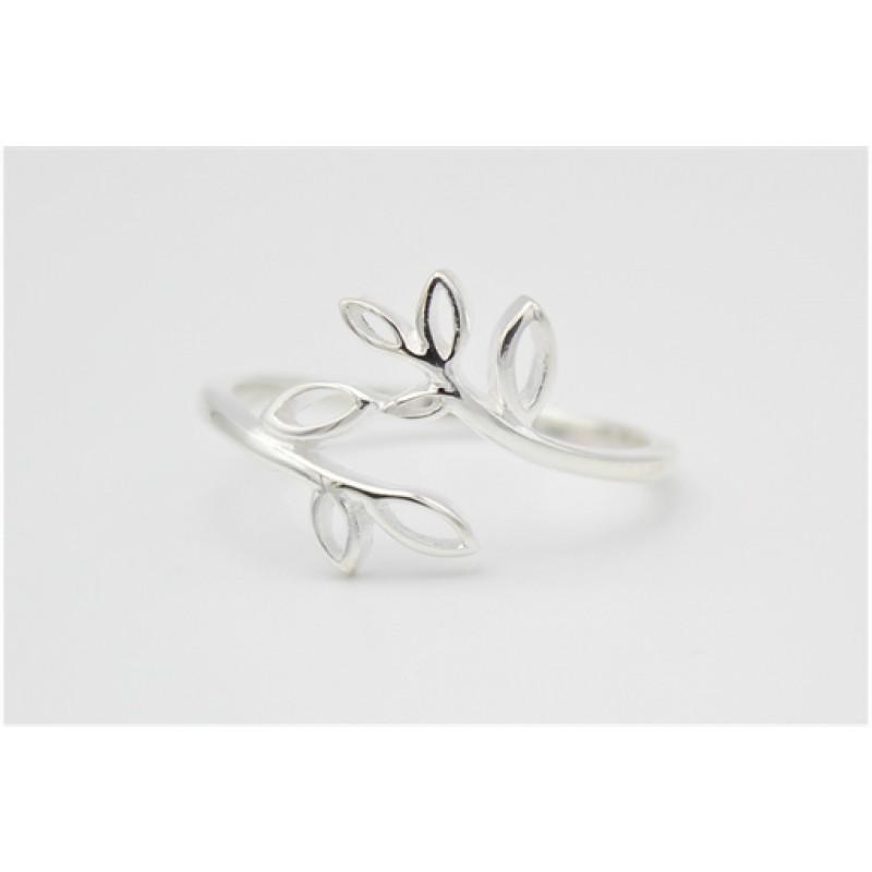 Grene, sølv ring
