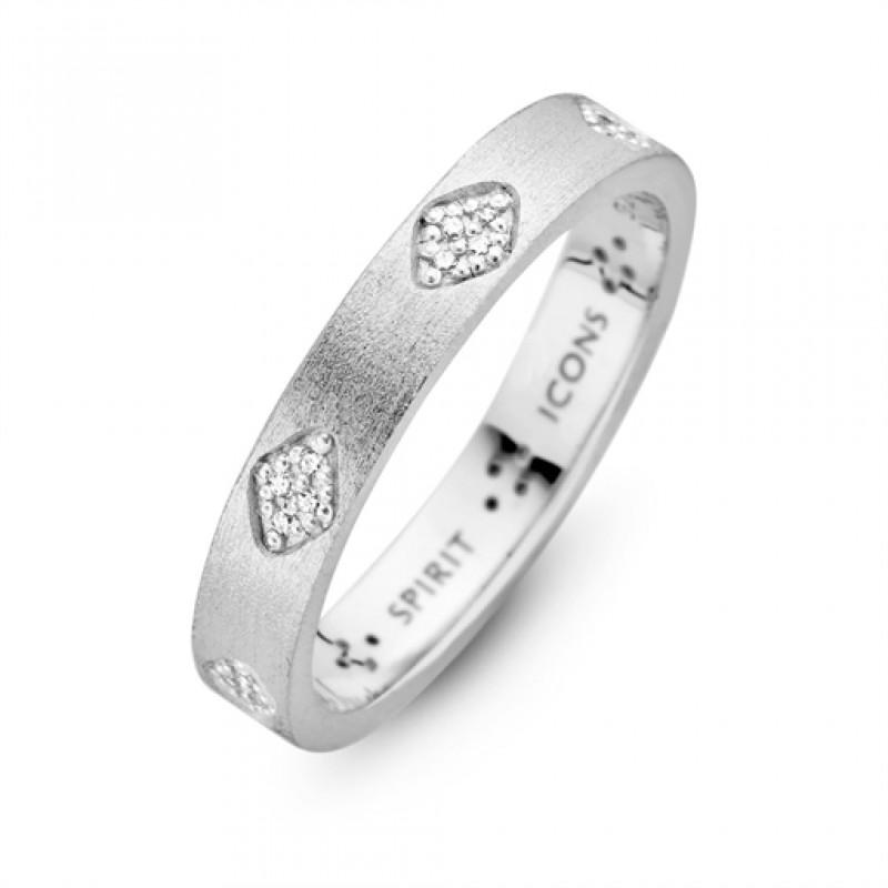 Shine ring, sølv