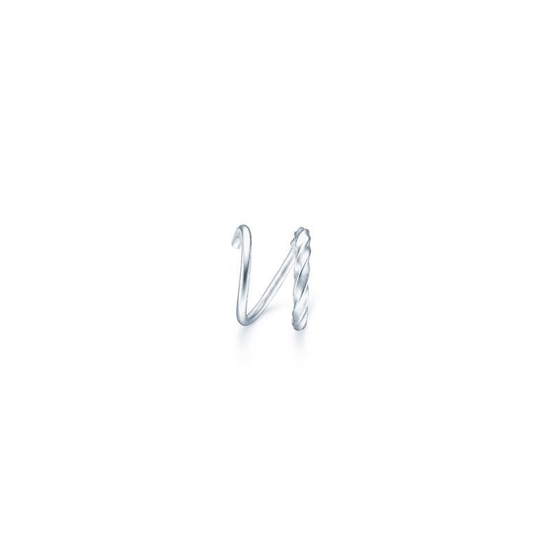 Unicorn Loop ørestik, sølv