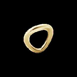 OFF SPRING ring guld-20