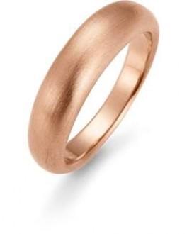 AAGAARD rosa forgyldt ring, mat-20