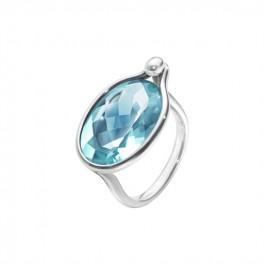 SAVANNAH ring 628 blå topaz-20