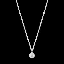 DAISY 11 mm vedhæng med brillanter sølv-20