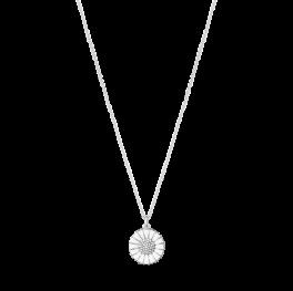 DAISY 18 mm vedhæng med brillanter sølv-20