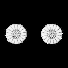 DAISY ørespyd 11 mm med brillanter sølv-20