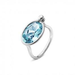 SAVANNAH ring 628B blå topaz-20