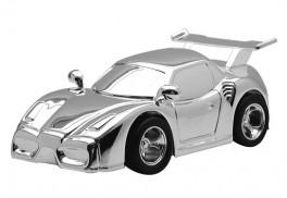 Sparebøsse, Racerbil sølvplet-20