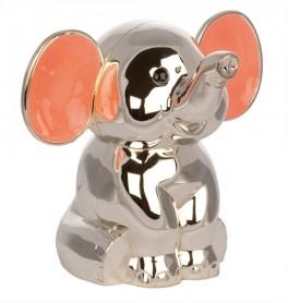 Sparebøsse, Elefant m. lyserøde ører-20