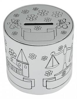Sparebøsse, databank sølvplet-20