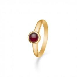 Cabochon rubin ring-20
