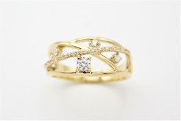 Lines 8 kt ring-20