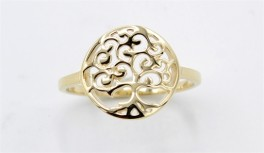 Tree of Life 8 kt ring-20