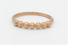 Kugle ring, rosa-20