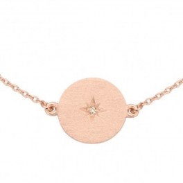 North Star armbånd i rosaforgyldt-20