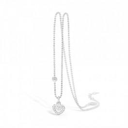 BLOSSOM halskæde i sølv, zirkonia-20