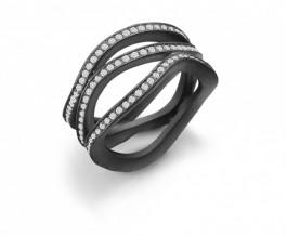AAGAARD sort rhod. ring, bred-20