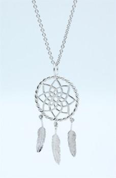 Dream halskæde, sølv-20