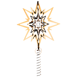 Topstjerne large gold-20