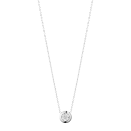 AURORA halskæde 1552A hvidguld-20
