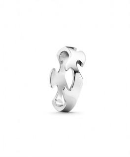 FUSION ring midterstykke hvidguld-20