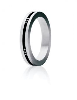 MENS CLASSIC sølv ring 60 B-20