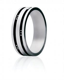 MENS CLASSIC sølv ring 60 D-20