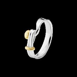 VIVIANNA TORUN ring sølv-guld-20