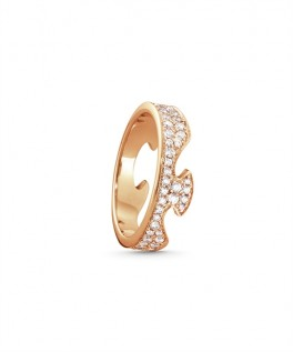 FUSION ring endestykke rosaguld paveret-20