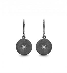 North Star Diamond ørehængere, sort-20