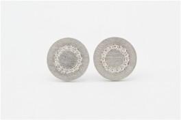 Iris sølv ørestikker-20