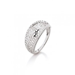 KRANZ and ZIEGLER sølv ring med blomster-20