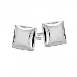 Square ørestikker sølv-20
