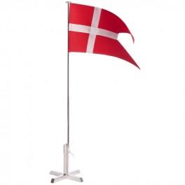 Bordflag, Carl Hansen, sølvplet, krydsfod-20