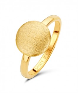 Aida ring forgyldt-20