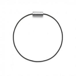 Armbånd sølv sort-20